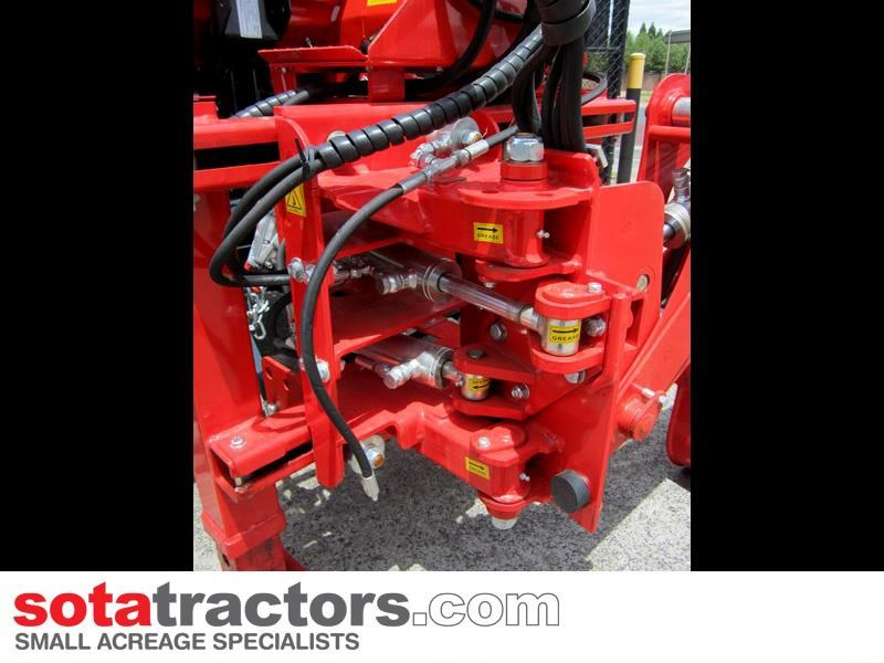 apollo 35hp tractor + 4 in 1 loader + backhoe 646229 033