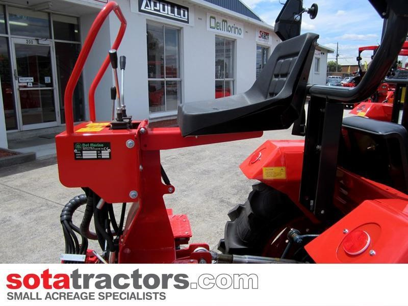 apollo 55hp tractor + 4 in 1 loader + backhoe 646442 041