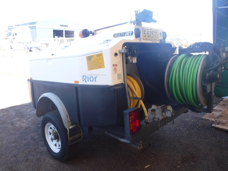rioned multi jet trailer mounted water jetting machine 647972 005