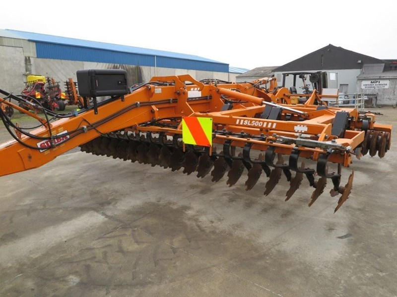 simba sl 500 disc/tyne/disc combination cultivator 651159 027