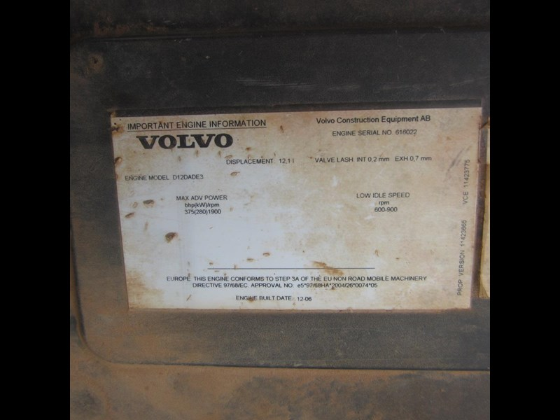 volvo a40d 652780 097
