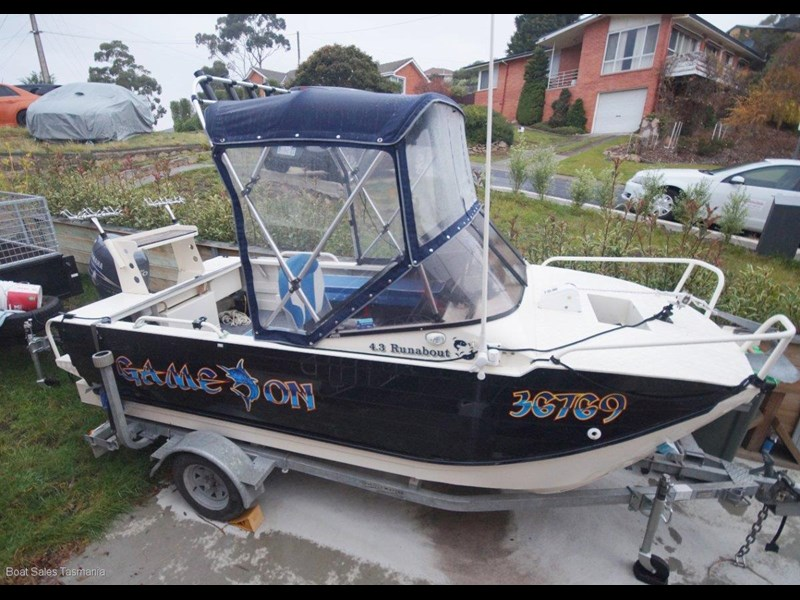 webster 4.3 twinfisher runabout 597760 001