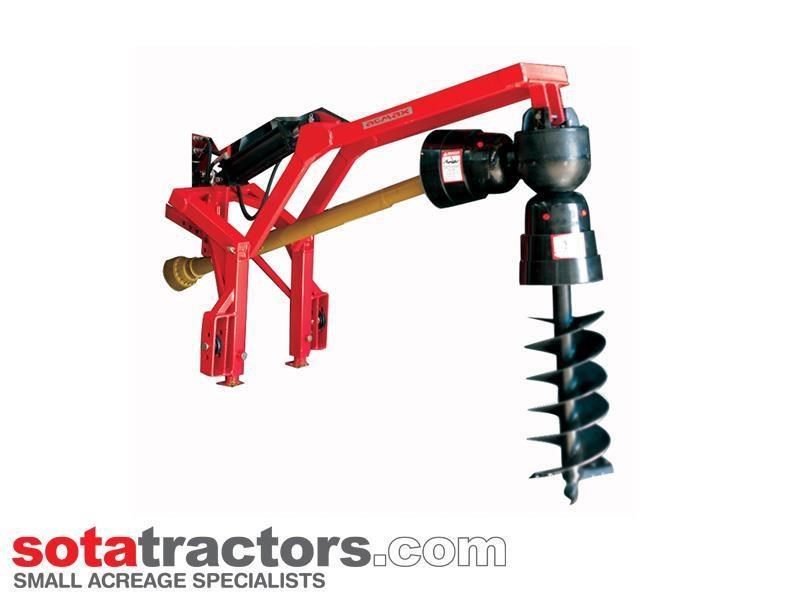 agmax pdhd post hole digger + auger - heavy duty 656915 001