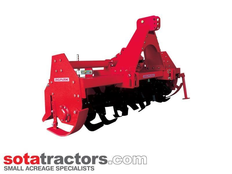 agmax rh178 commercial rotary hoe 1.78m 656929 001