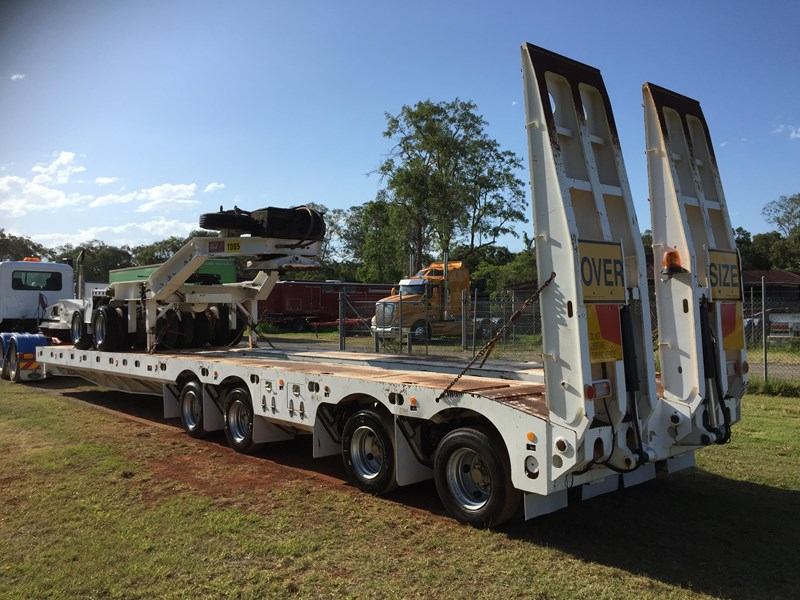 trt 4×8 widening low loader & 2×8 dolly 659908 007