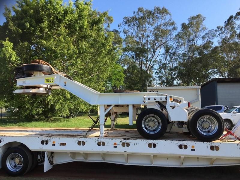 trt 4×8 widening low loader & 2×8 dolly 659908 013