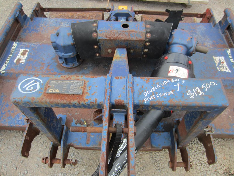 chris grow 7' twin gearbox rotary slasher 661281 019