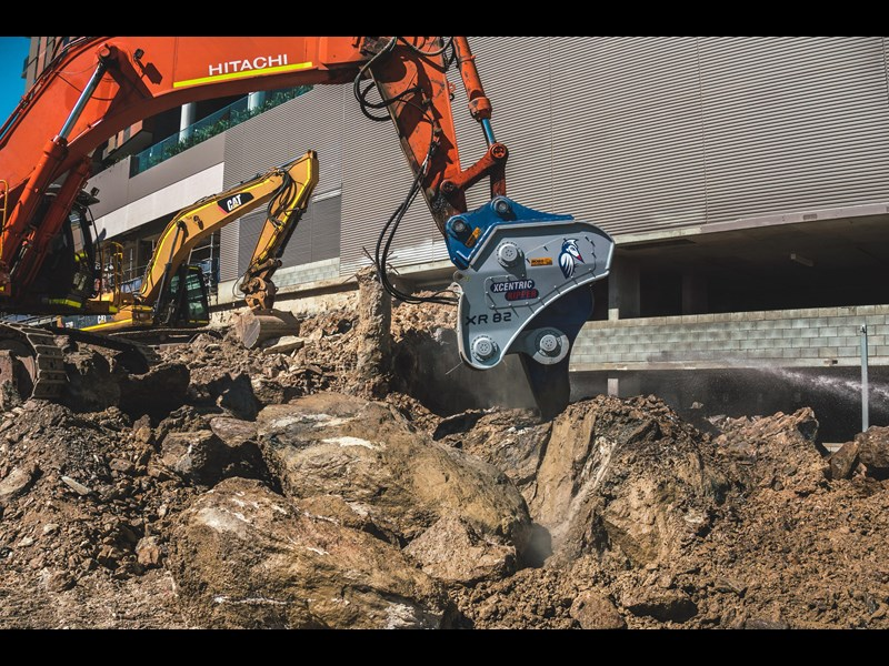 xcentric xr42 mining series rippers (suitable for 32t+ carriers) exclusive to boss attachments 581955 031