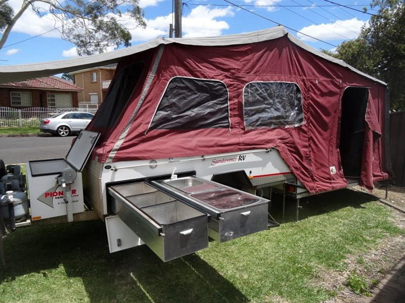 pioneer camper trailers sundowner rv off-road hard floor 663792 005