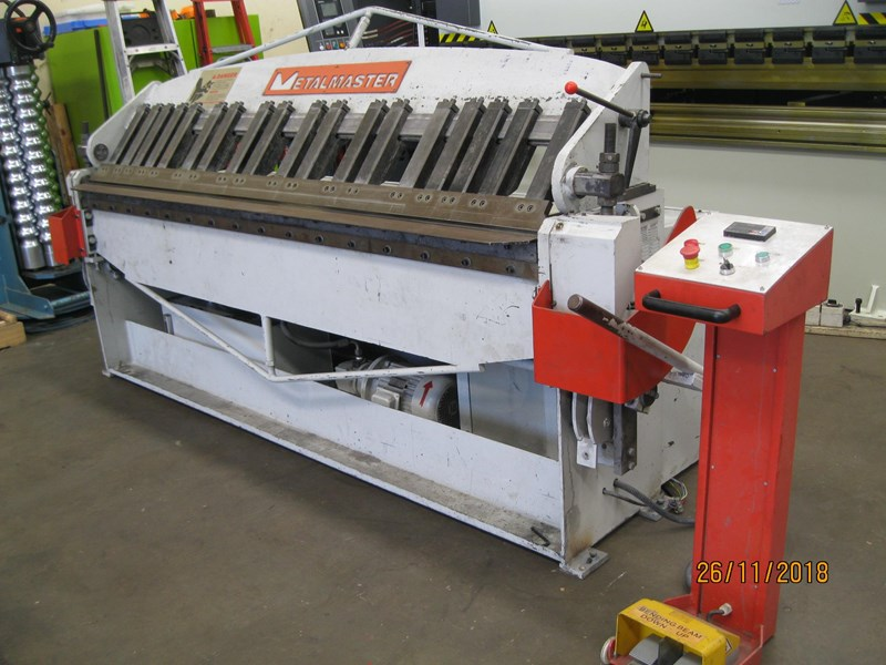 metalmaster 2500 x 2mm semi hydraulic 664330 001