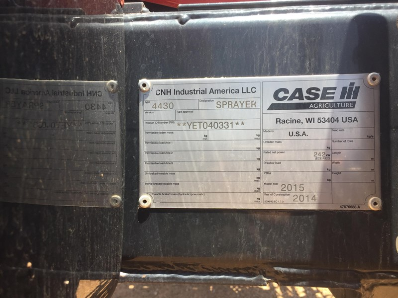 case ih 4430 patriot 667846 007