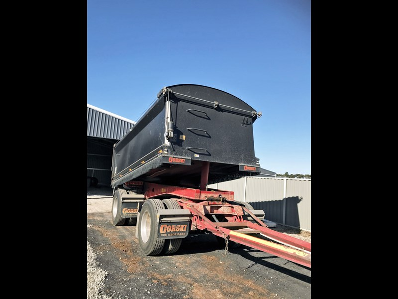 gorski 2 axle tipper 669051 013