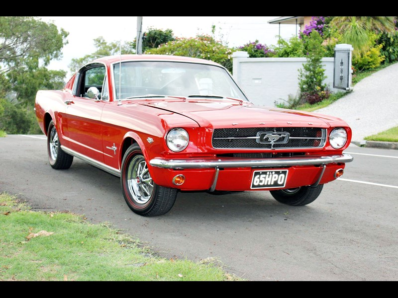 1965 FORD MUSTANG K-Code Fastback for sale