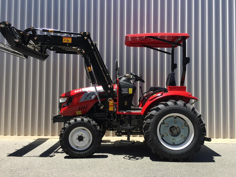 trident brand new 40hp tractor 4wd+fel+slasher shuttle shift 512366 073