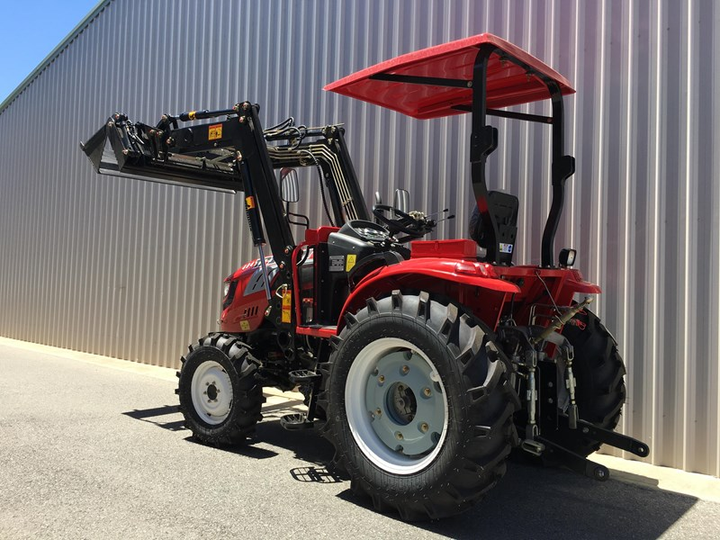 trident brand new 40hp tractor 4wd+fel+slasher shuttle shift 512366 081