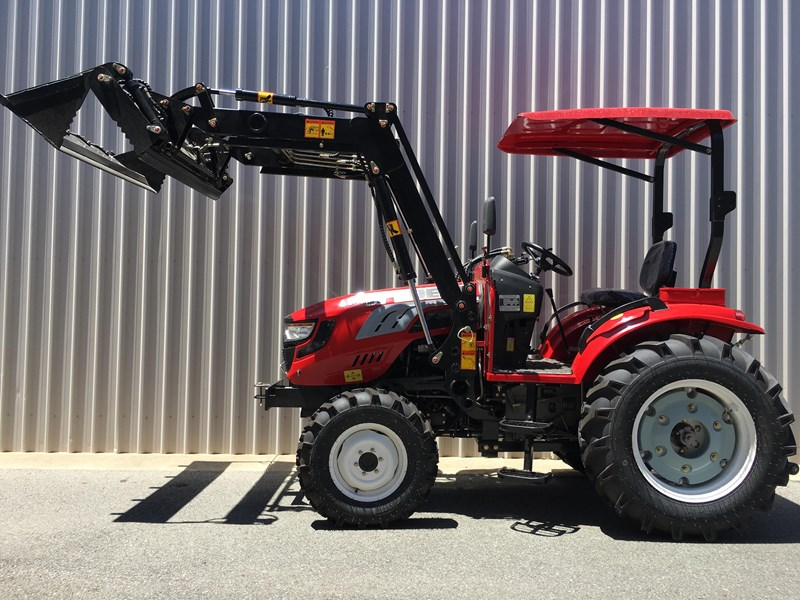 trident brand new 40hp tractor 4wd+fel+slasher shuttle shift 512366 083