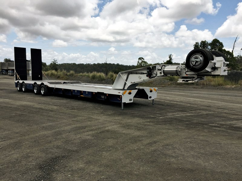 drake 4x8 swinging low loader 674684 001