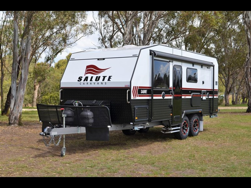 "other salute caravans sabre 20ft 6"" semi off road 676469 001"