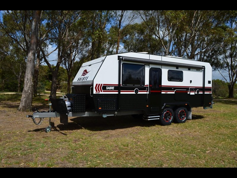 "other salute caravans sabre 20ft 6"" semi off road 676469 005"