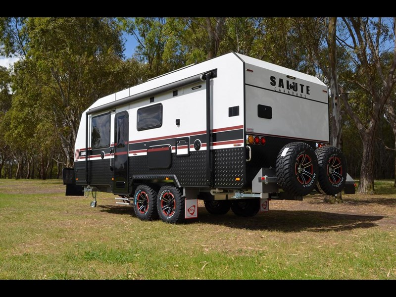 "other salute caravans sabre 20ft 6"" semi off road 676469 009"
