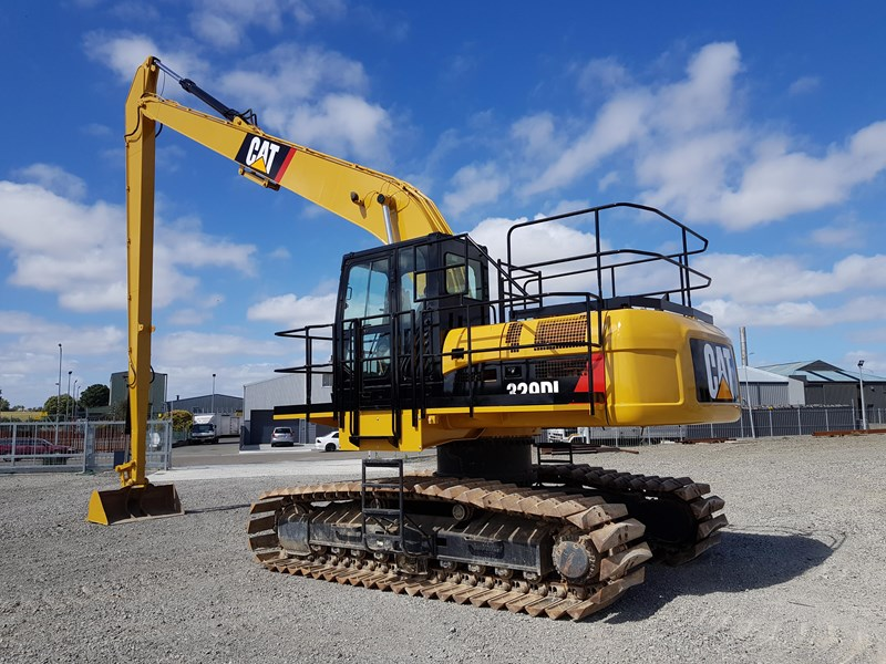 caterpillar 329dl long reach 573544 005