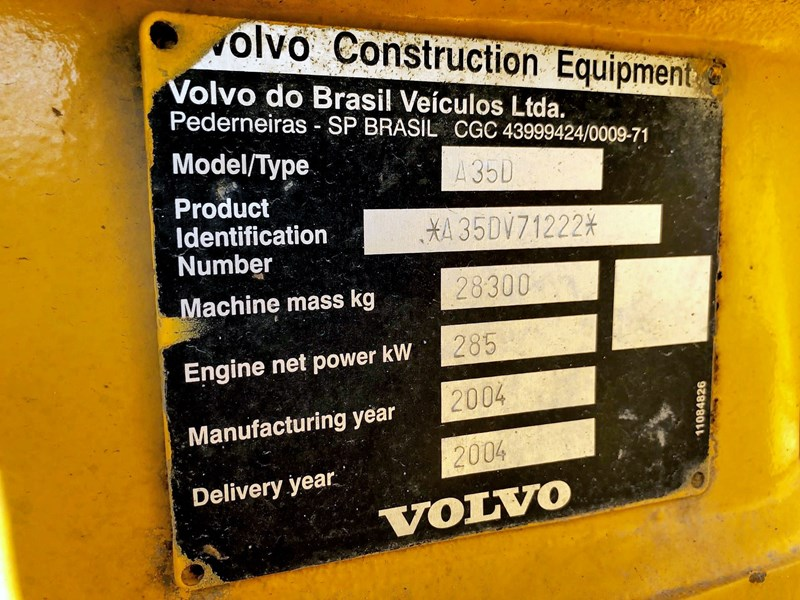 volvo a35d 686939 027