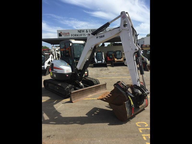 bobcat e50 - excellent condition - price reduced! 687499 007