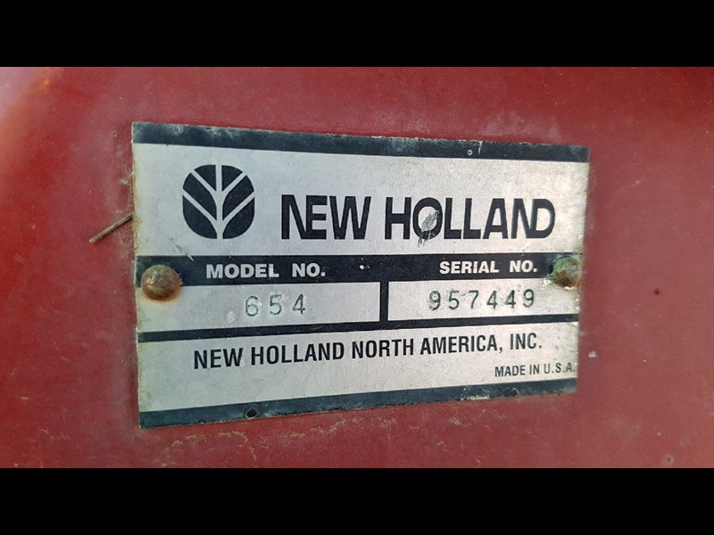 new holland 654 round baler 688078 003