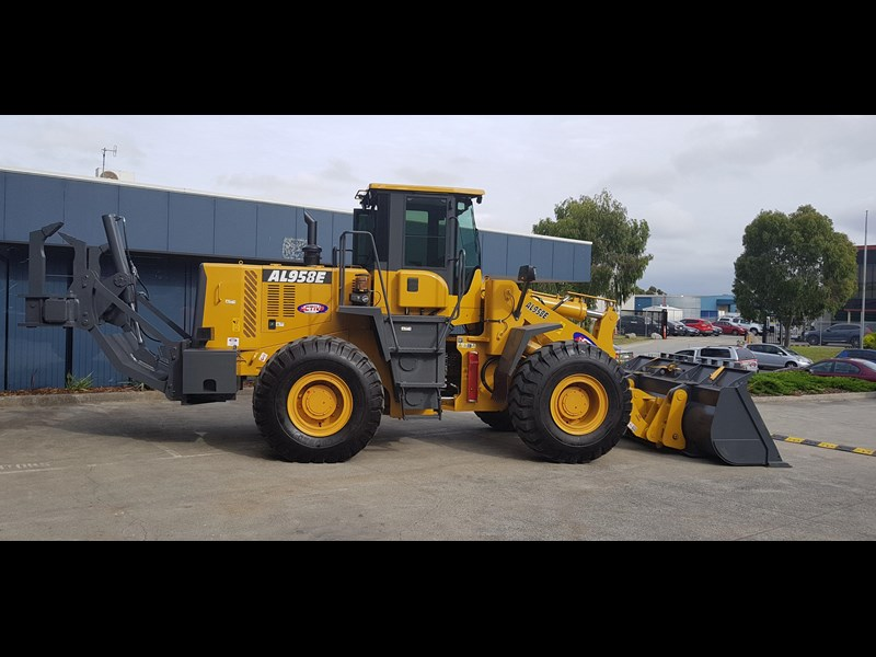 active machinery al958e 19.5t, 'cat engine, 4spd electric trans, 3 yr warranty 588706 011