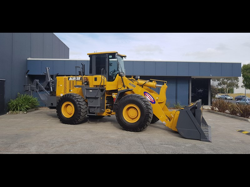 active machinery al958e 19.5t, 'cat engine, 4spd electric trans, 3 yr warranty 588706 013