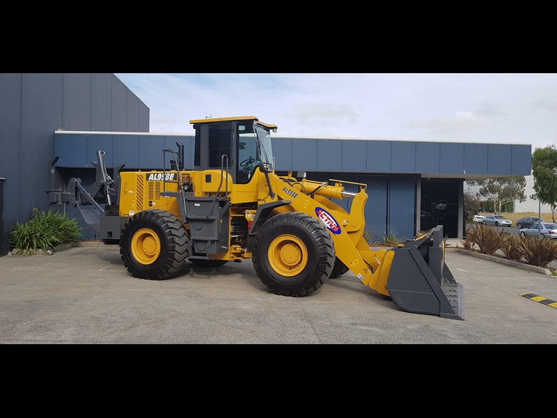 active machinery al958e 19.5t, 'cat engine, 4spd electric trans, 3 yr warranty 588706 015