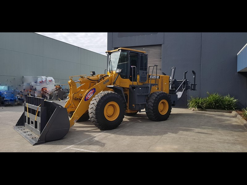 active machinery al958e 19.5t, 'cat engine, 4spd electric trans, 3 yr warranty 588706 039