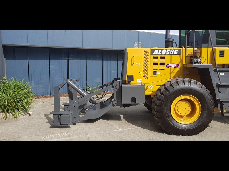 active machinery al958e 19.5t, 'cat engine, 4spd electric trans, 3 yr warranty 588706 047