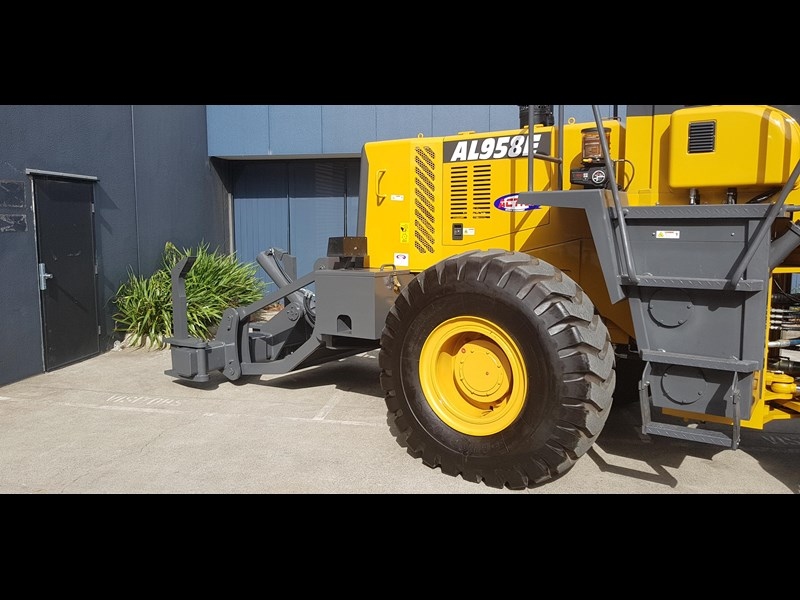 active machinery al958e 19.5t, 'cat engine, 4spd electric trans, 3 yr warranty 588706 053