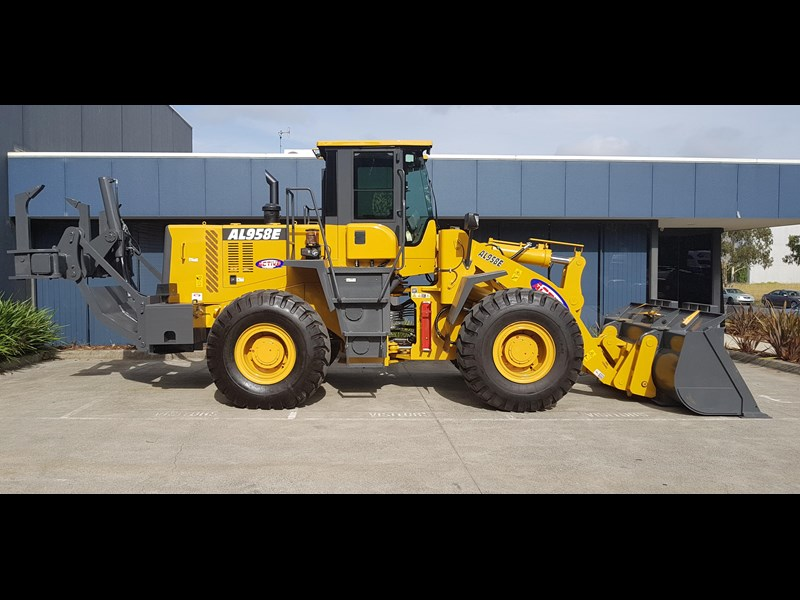 active machinery al958e 19.5t, 'cat engine, 4spd electric trans, 3 yr warranty 588706 067