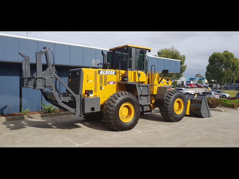 active machinery al958e 19.5t, 'cat engine, 4spd electric trans, 3 yr warranty 588706 071