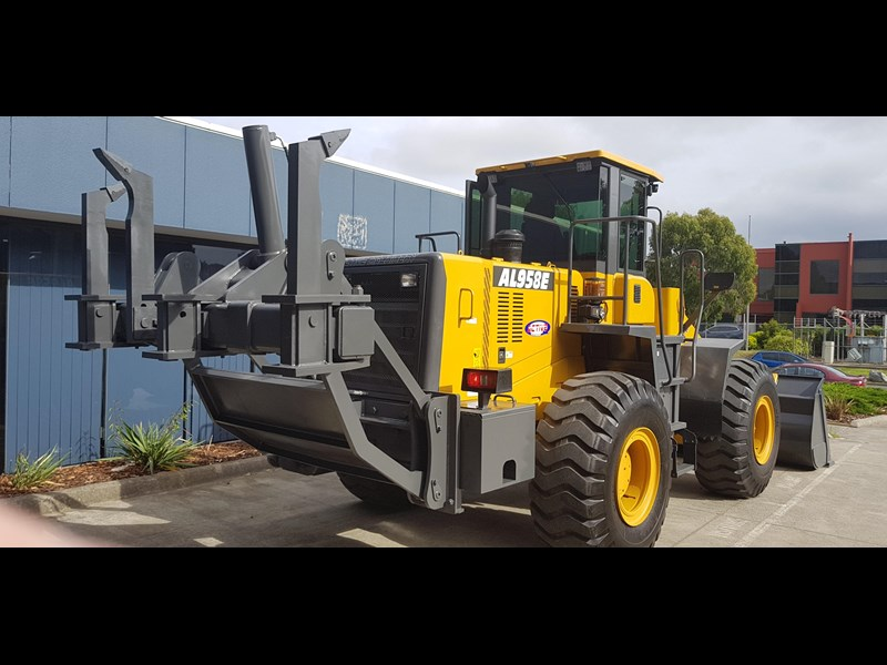 active machinery al958e 19.5t, 'cat engine, 4spd electric trans, 3 yr warranty 588706 073