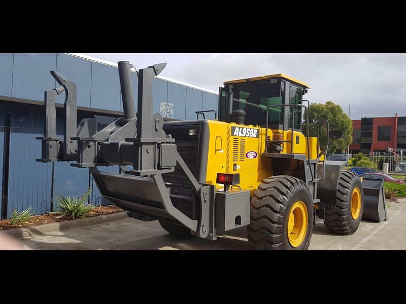 active machinery al958e 19.5t, 'cat engine, 4spd electric trans, 3 yr warranty 588706 075