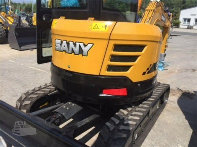 sany sy35u - new - with 3 buckets and half hitch 693062 011