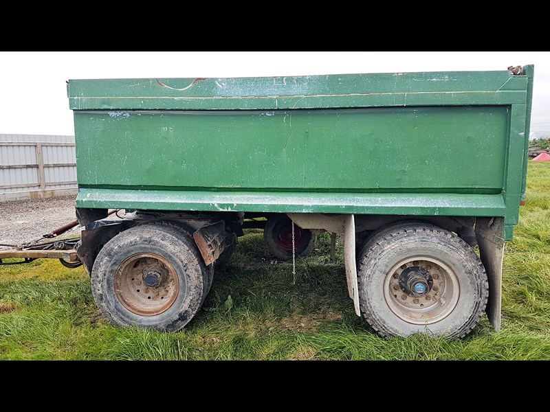 unknown hydraulic tipping truck type trailer 638343 001