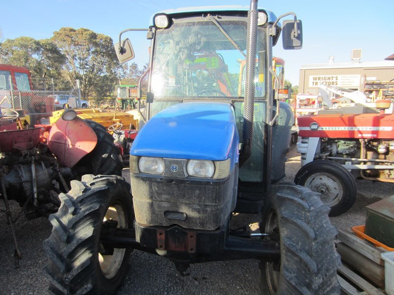 new holland tn70d 4 wheel drive tractor 694672 009