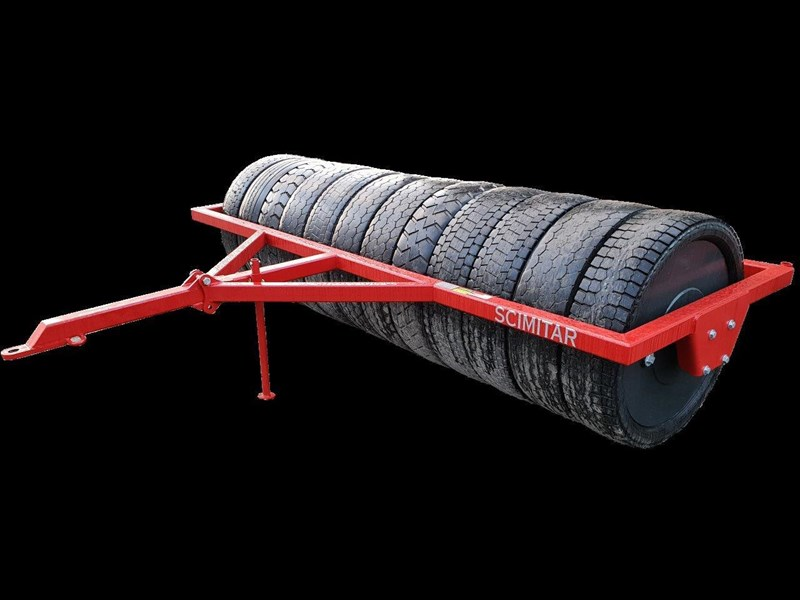 scimitar 3m rubber tyred roller 27890 001