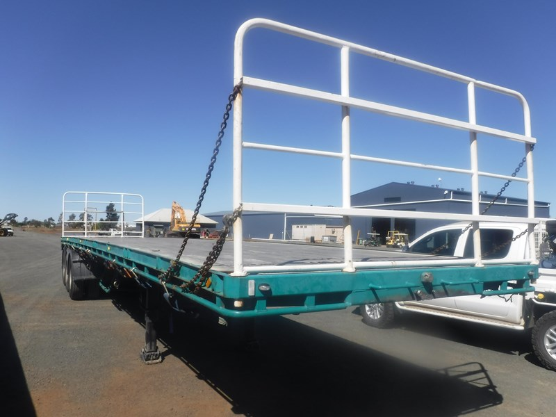 krueger 44ft flat top trailer 696353 007