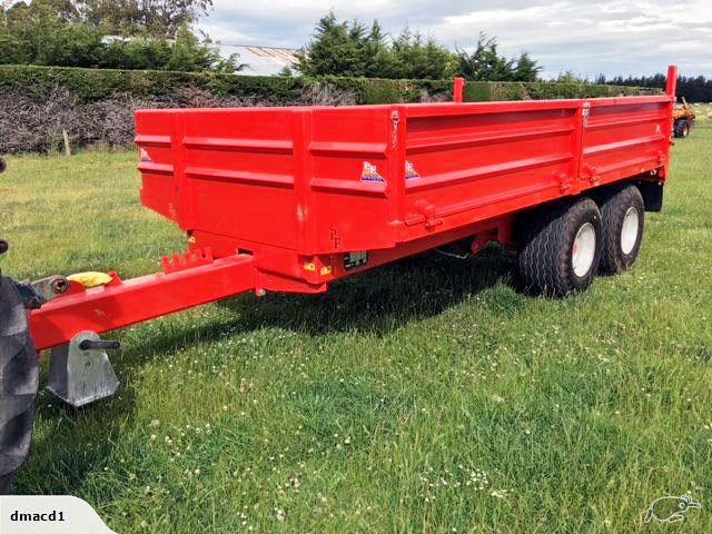mac machinery 10 tonne tip trailer 667648 001