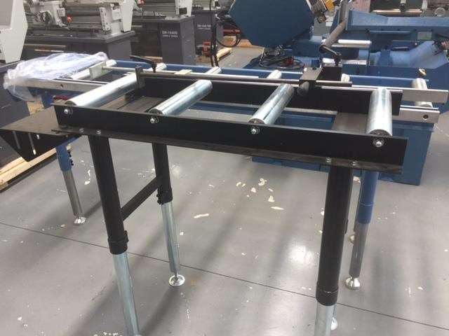 steelmaster calibrated length stop roller conveyor kit, 350mm x 1000mm linear measuring system & flip up length 701934 001