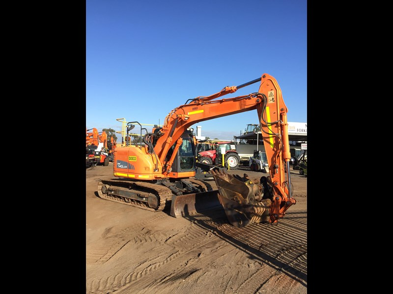 doosan dx140lcr - excellent condition - low hours! 703003 005