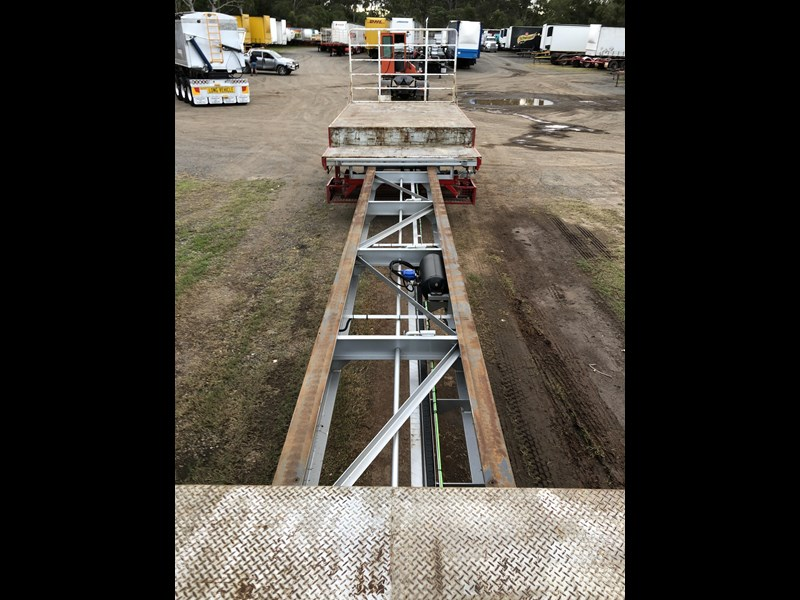 maxitrans 45ft drop deck extendable with ramps 704430 063