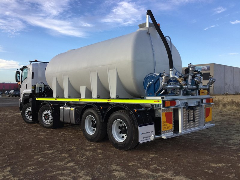 national water carts 18000l poly cartage tank 706591 009