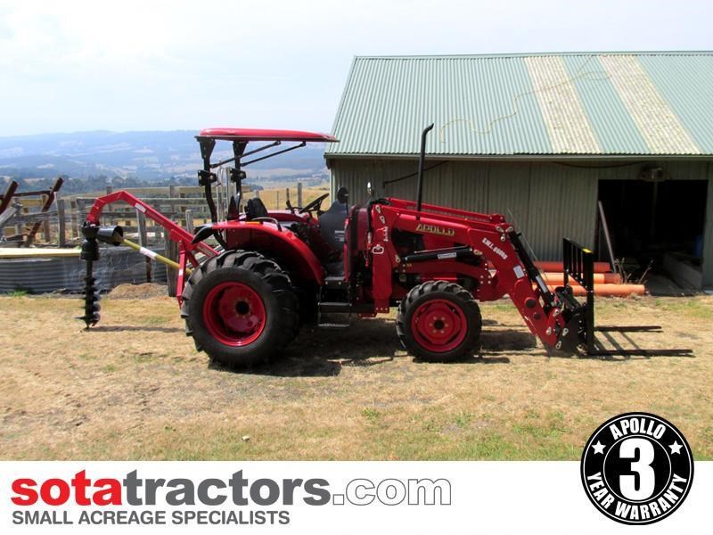 apollo 55hp tractor - equestrian package 707050 039
