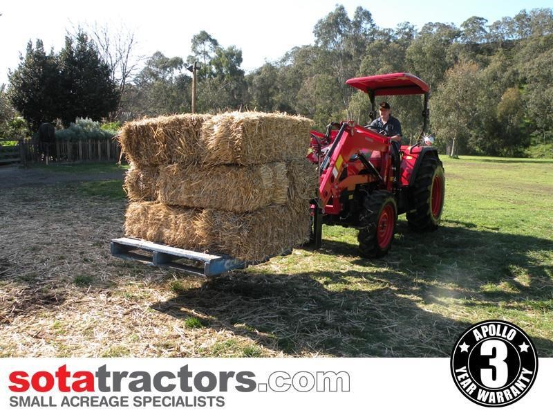 apollo 55hp tractor - equestrian package 707051 029